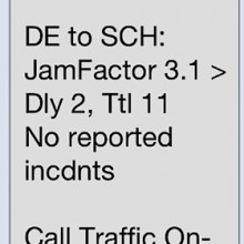 Traffic alerts make my drive easier!
