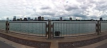 Rollerblading by the Detroit River Walk &#8211; Day 5 of 31 photos in 31 days