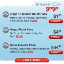 Surf the Internet from 30,000 feet for only $1.95
