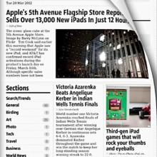 Early Edition 2 news app for the iPad – Review