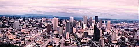 Seattle Panorama July 1981