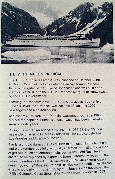 Princess Patricia Info