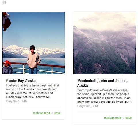 Feedly Cards View