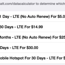 AT&T iPad cellular data plan cost is now HALF the price!