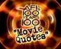100 movie quotes