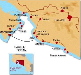 Cr Montezuma Jaco Water-Taxi