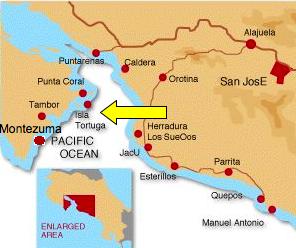 Cr Tortuga Map