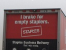 I break for empty staplers