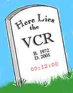 Vcr tivo tombstone